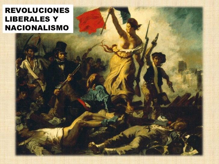 REVOLUCIONESLIBERALES YNACIONALISMO