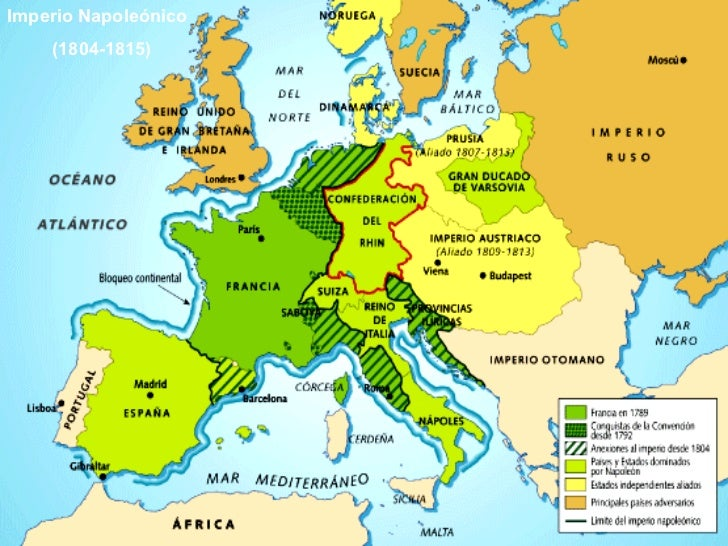 Imperio Napoleónico (1804-1815)