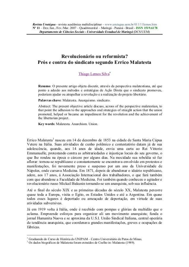 Revista Urutágua - revista acadêmica multidisciplinar – www.urutagua.uem.br/011/11lemos.htm Nº 11 – Dez./Jan../Fev./Mar. 2...