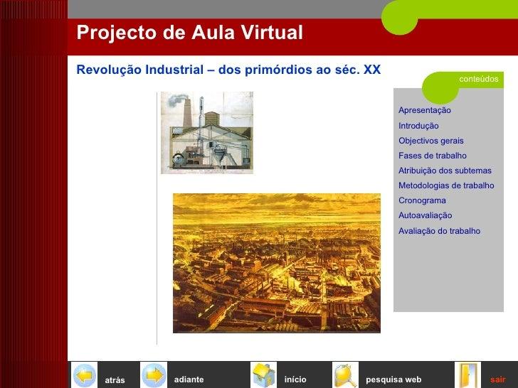 conteúdos Projecto de Aula Virtual início sair pesquisa web atrás adiante