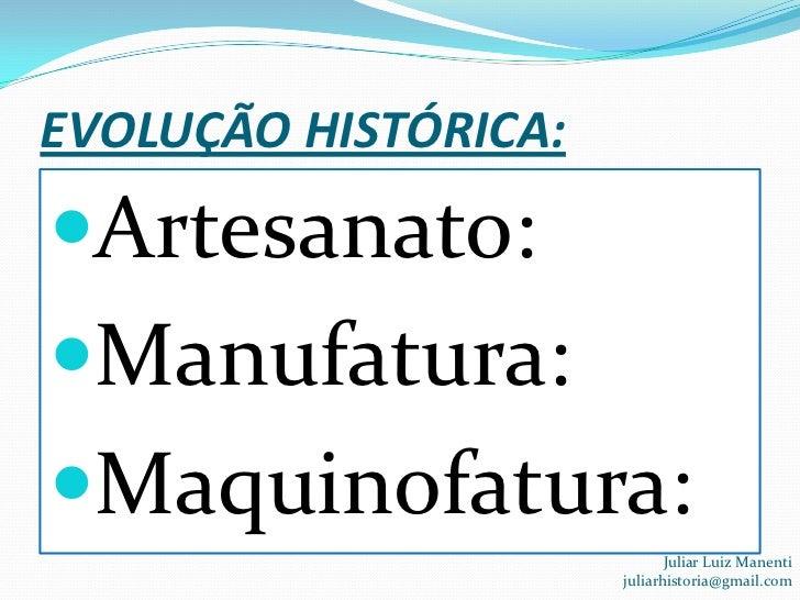 Artesanato Maceio Pajuçara ~ Revoluç u00e3o industrial