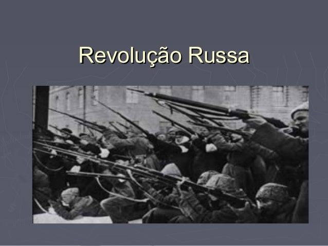 Revolução RussaRevolução Russa