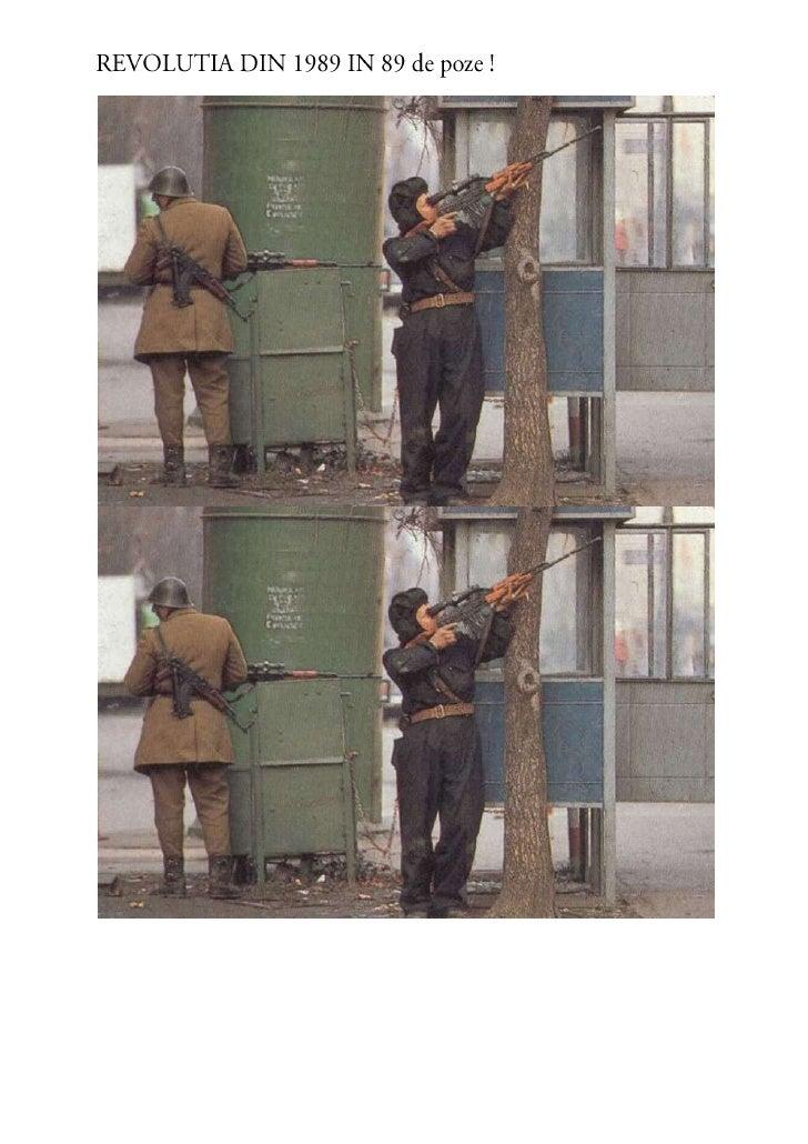 Revolutia in 89 de poze