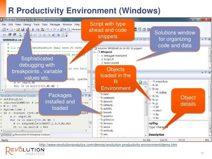 R Productivity Environment (Windows)                                                                                      ...