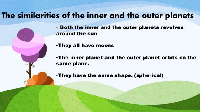 comparison inner and outer planets - photo #43