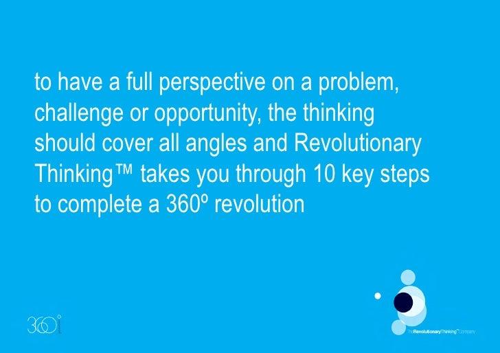 Revolutionary Thinking™ - Innovation Alignment
