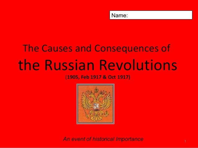 causes of the 1905 revolution essay