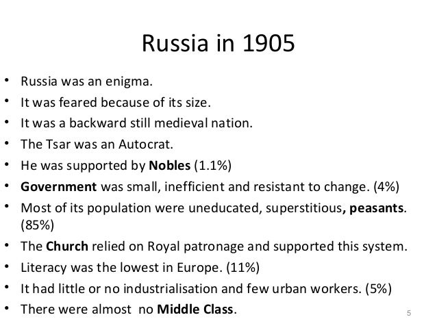 russian revolution 1905 and 1917