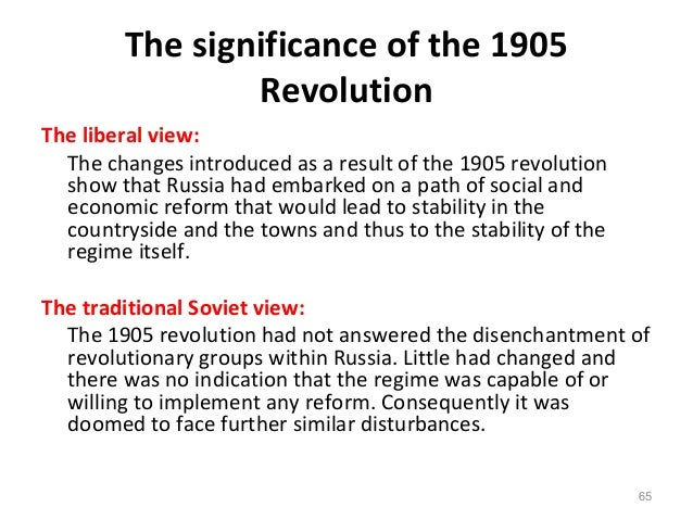 revolution 1905 aims achieved He achieved his aims through heavily taxing the peasants, who were already paying redemption payments on land given to them under the emancipation act of 1861 this was the main consequence of the revolution the 1905 revolution was seen as many as the blueprint for the 1917 revolution.