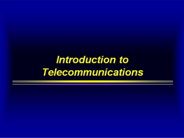 telecommunication industry and its effects on An important force within the porter's five forces model is the bargaining power of suppliers we provide its  turned the industry back to its higher.