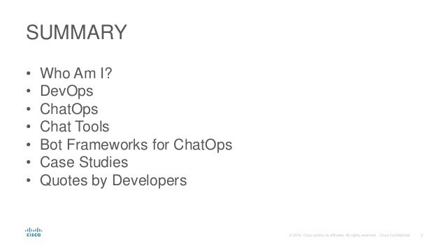 Revolutionize Your Workflow with ChatOps Slide 2