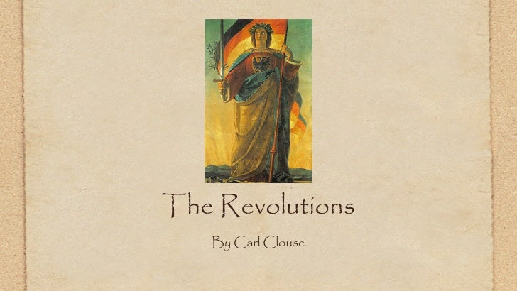 The Revolutions   By Carl Clouse