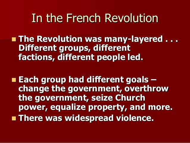 compare and contrast essay of the american and french revolution Furthermore, french and haitian morale was propelled by evaluating the success of the american revolution, just as tunisia's revolution in the early 21st century set a domino effect through the middle east, awakening many citizens to take action against their governments.