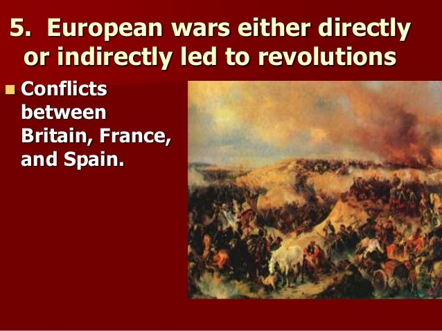 the changes brought to france and america by the french and the american revolutions Revolutions in haiti and latin america  another outcome of the haitian revolution was that with its success it brought  the latin american revolutions.