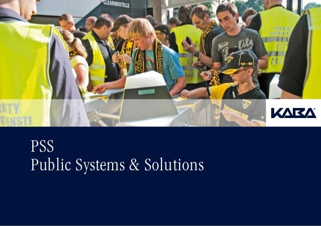 PSS Public Systems & Solutions