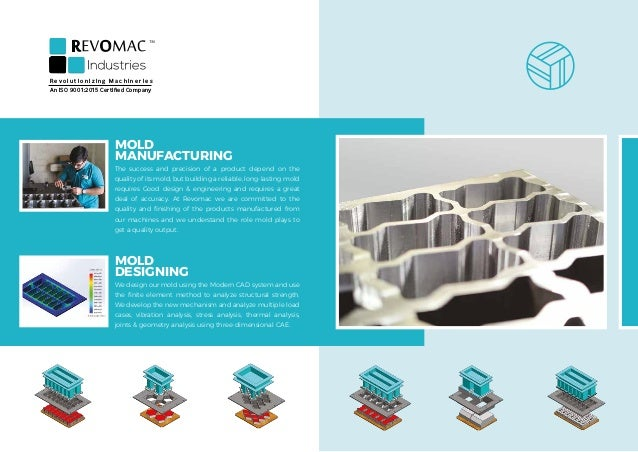 MOLD MANUFACTURING The success and precision of a product depend on the quality of its mold, but building a reliable, long...
