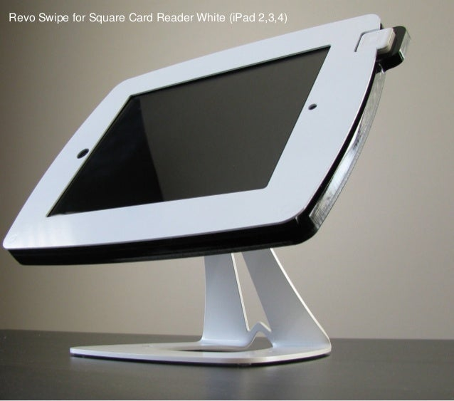 Revo Swipe for Square Card Reader White (iPad 2,3,4)