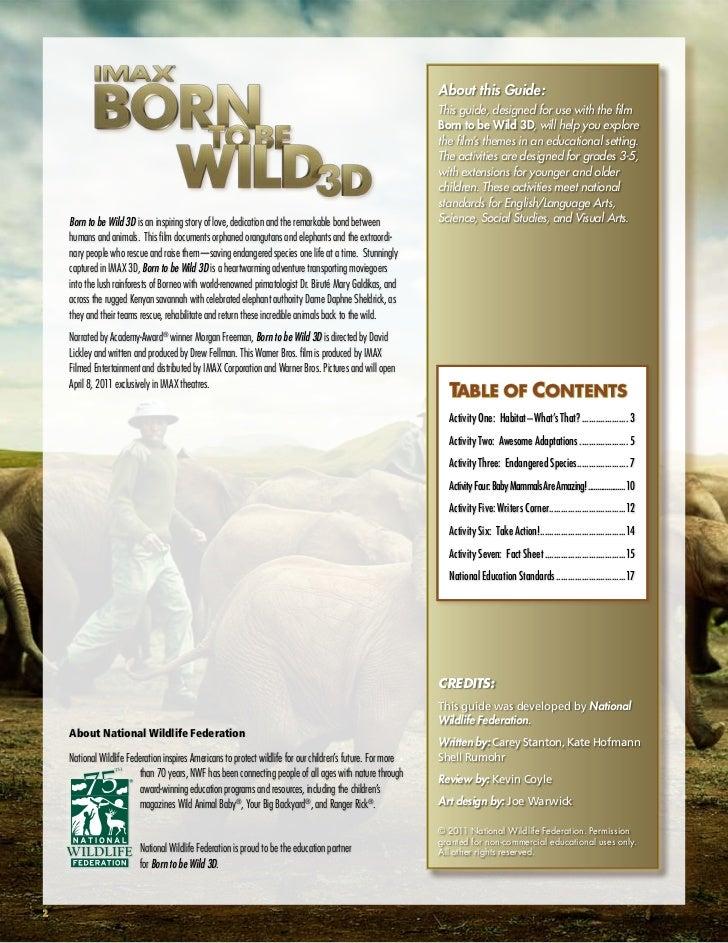 born to be wild film 2011