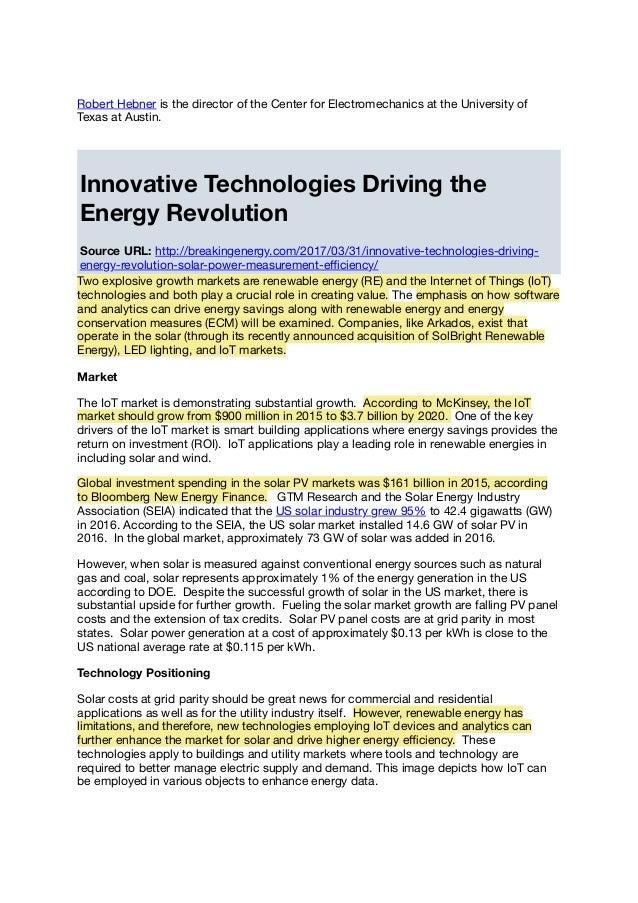 Revue de presse IoT / Data / Energie du 02/04/2017