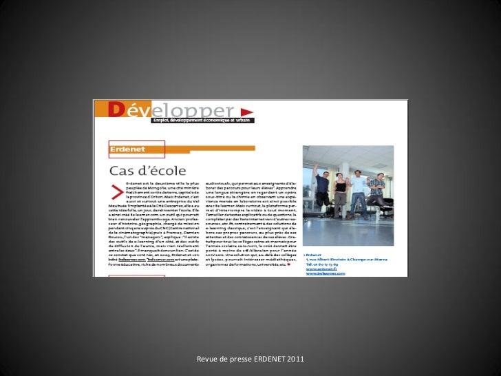 Revue de presse ERDENET 2011