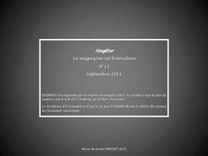 MagEco                    Le magazine est-francilien                                      N°11                            ...