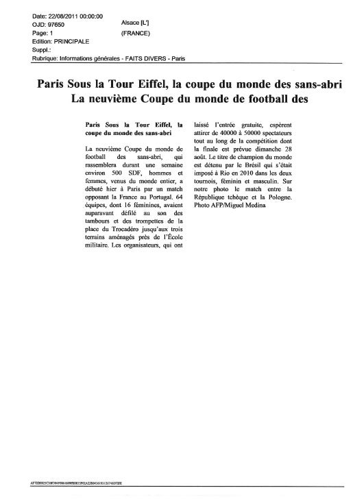 Revue de presse   hwc 2011[1]