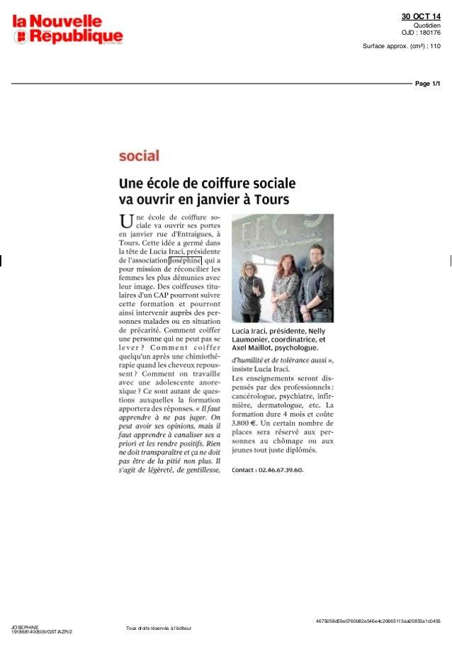 Revue de presse josephine prend le m tro 2014 for Presse agrume professionnel metro