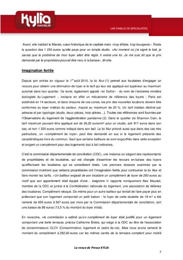 Revue De Presse Kylia Du 7 Au 13 Mars 2016