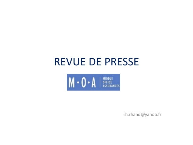 REVUE DE PRESSEch.rhand@yahoo.fr