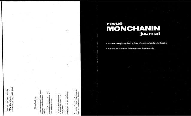 Revue monchanin centre monchanin