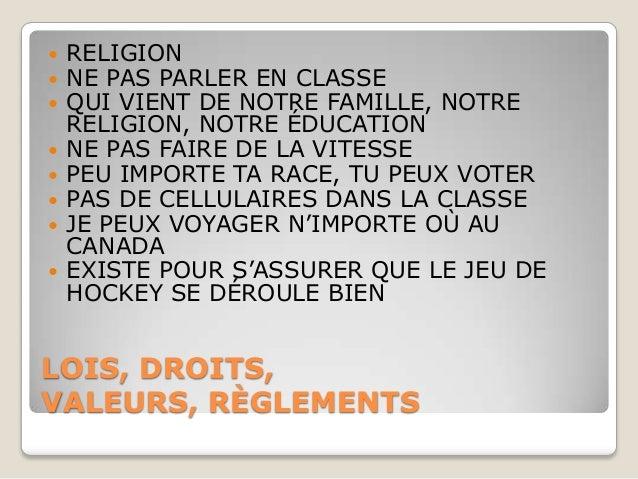    RELIGION   NE PAS PARLER EN CLASSE   QUI VIENT DE NOTRE FAMILLE, NOTRE    RELIGION, NOTRE ÉDUCATION   NE PAS FAIRE ...