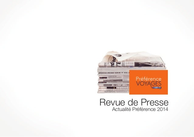 Revue de Presse Actualité Préférence 2014