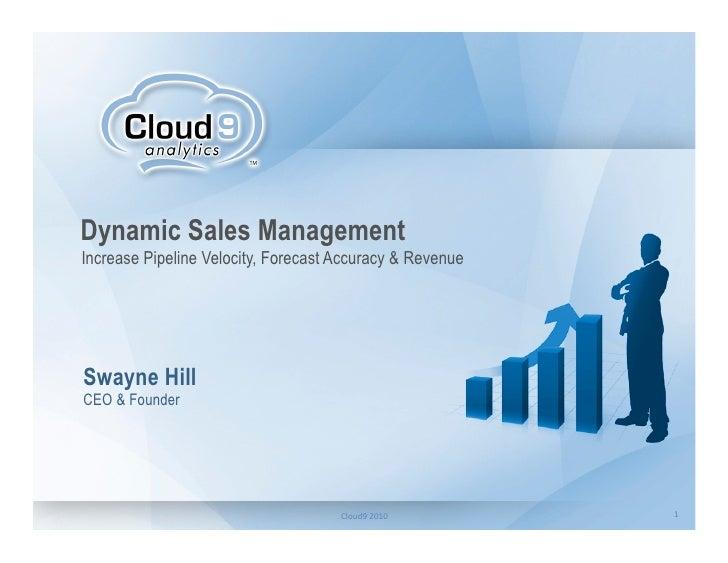 Dynamic Sales Management