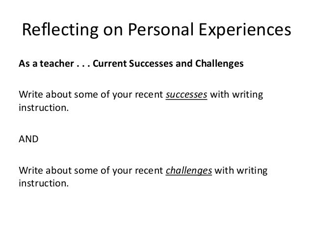 what is writing instruction