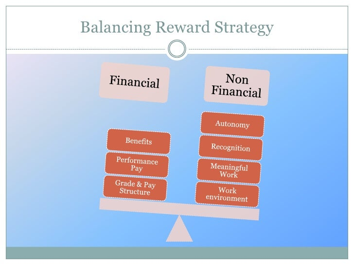 financial and non financial rewards commerce essay A bank is a financial institution licensed as a receiver of deposits.