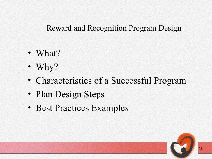 role of rewards and recognition in Many employees are motivated by two goals: earning a paycheck and doing  work that makes them proud the offer of an additional reward gives an  employee.
