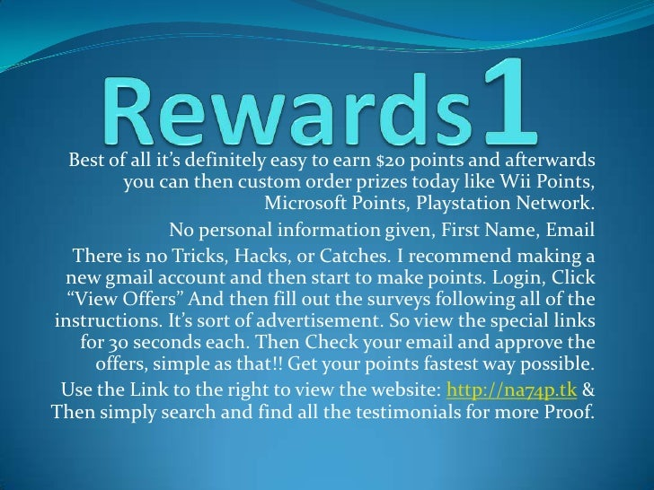 Best of all it's definitely easy to earn $20 points and afterwards           you can then custom order prizes today like W...