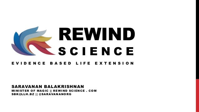 Science of life extension speech