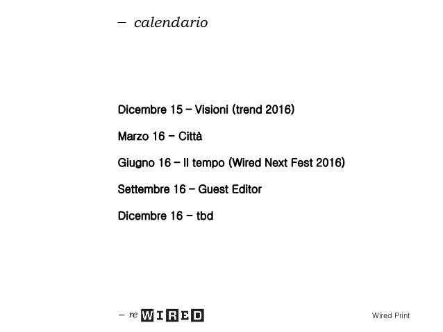 distribuzione re Wired Print