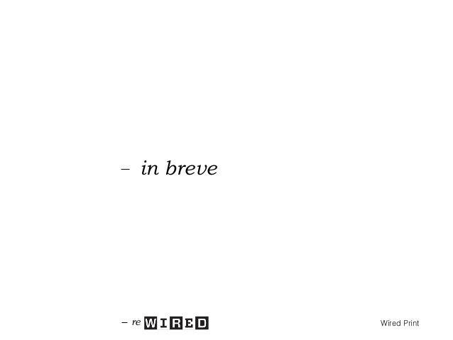 in breve Da magazine a libro Da informazione a ispirazione e orientamento Da mensile a trimestrale Da sezioni a capitoli D...