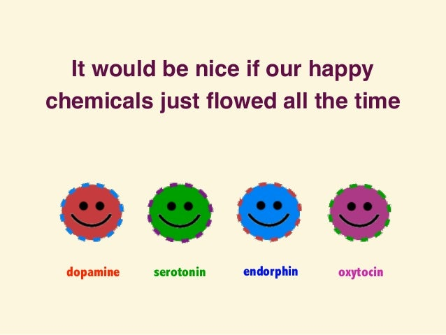 smiling neurotransmitters and endorphins Okay, everyone knows laughter can make you feel better, even in the throes of depression and anxiety yes, endorphins are involved but there's more.