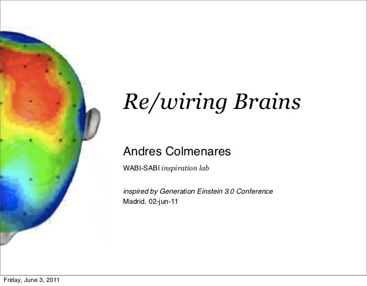 Re/wiring Brains                       Andres Colmenares                       WABI-SABI inspiration lab                  ...