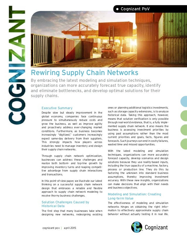 Technology Management Image: Rewiring Supply Chain Networks