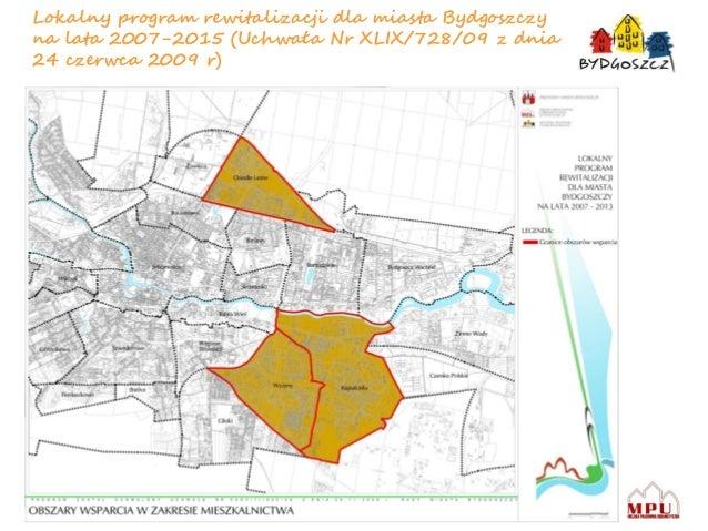 Rewitalizacja obszarów śródmiejskich w bydgoszczy Slide 2