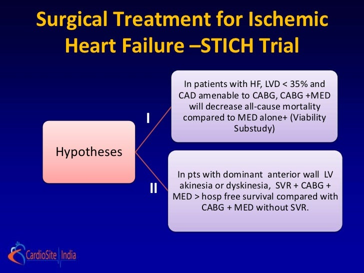 Critical appraisal of Stitch Trial by Dr. Akshay Mehta