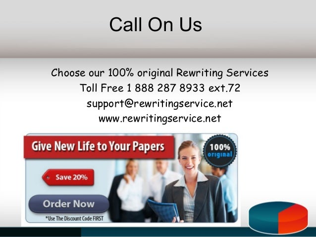 rewriting services If you're in this situation our rewriting service, which demands the very highest  level of editorial skill, will result in a book you will be proud to have carry your.