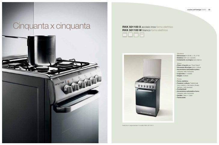 cucine soft design 50x50   33     Cinquanta x cinquanta   RKK 501100 X acciaio inox forno elettrico                       ...
