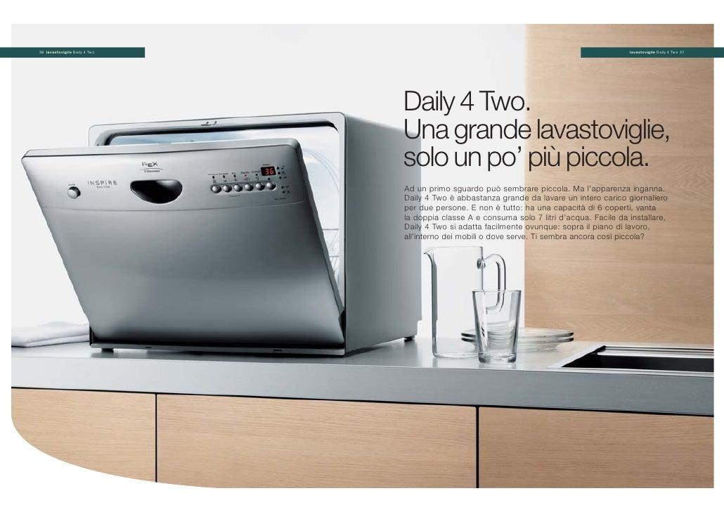 Rex lavastoviglie 24 47 for Lavastoviglie 4 coperti