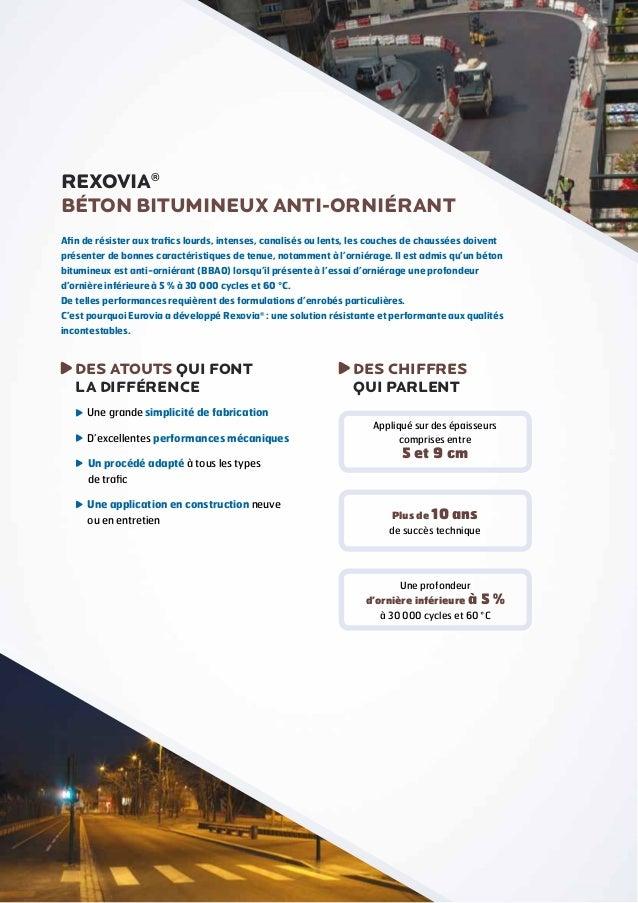 Rexovia® - Les chaussées font de la résistance ! Slide 2