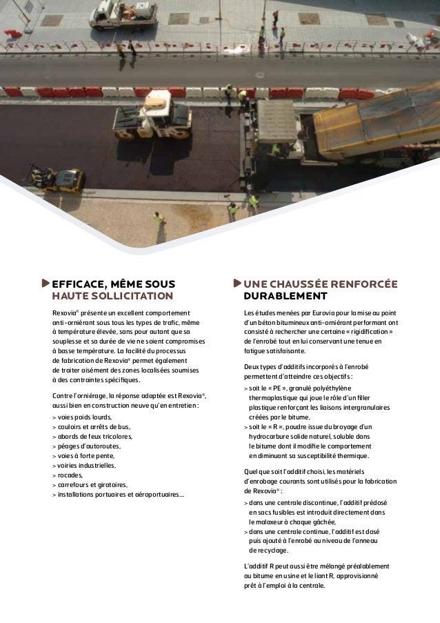 Rexovia® - Les chaussées font de la résistance ! Slide 3